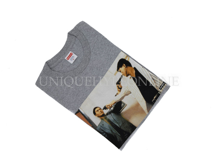 Supreme The Killer Trust T-shirt FW18 Heather Grey