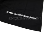 Supreme Comme des Garcons SHIRT Split Box Logo T-shirt FW18 Black
