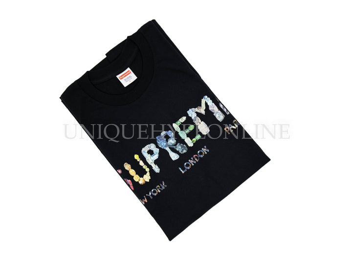 Supreme Rocks T-shirt SS18 Black