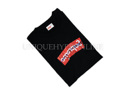 Supreme Comme Des Garcons SHIRT Box Logo T-shirt SS17 Black