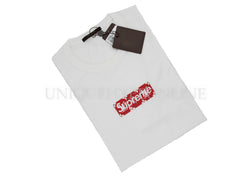 Supreme Louis Vuitton Box Logo T-shirt White