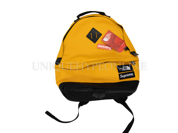 Supreme The North Face Leather Day Pack FW17 Yellow