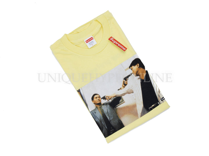 Supreme The Killer Trust T-shirt FW18 Yellow