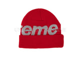 Supreme Big Logo Beanie FW18 Red