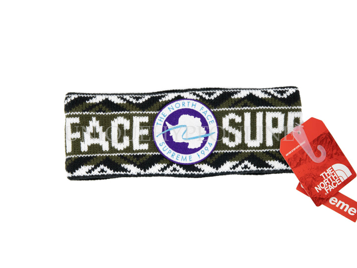 Supreme The North Face Trans Antarctica Expedition Headband SS17 Olive