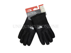 Supreme The North Face Leather Gloves FW17 Black