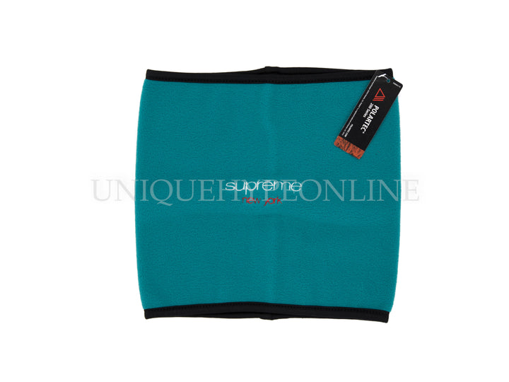 Supreme Polartec Fleece Neck Gaitor FW16 Teal