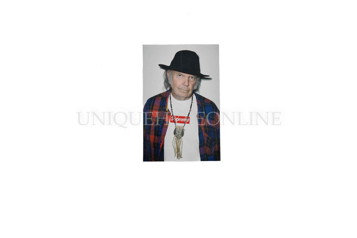 Supreme Neil Young Sticker