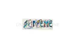 Supreme Trip Reset Sticker