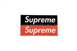 Supreme Felt Box Logo Stickers (Set of 2)