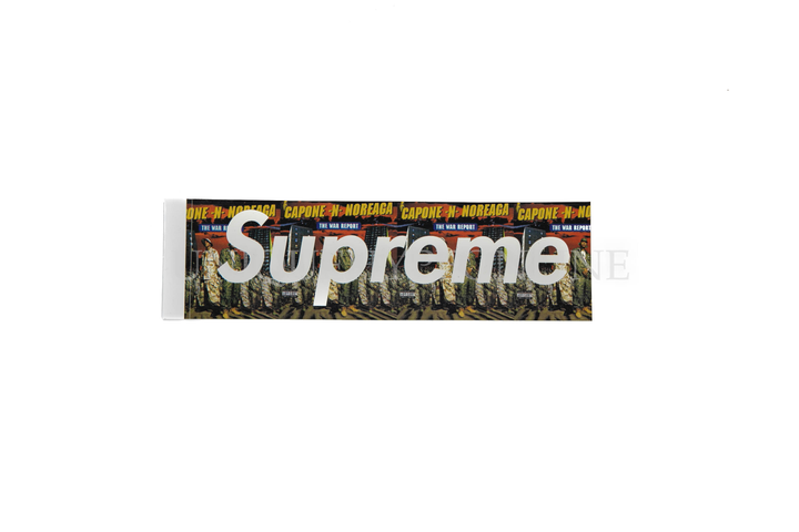 Supreme CNN Box Logo Sticker