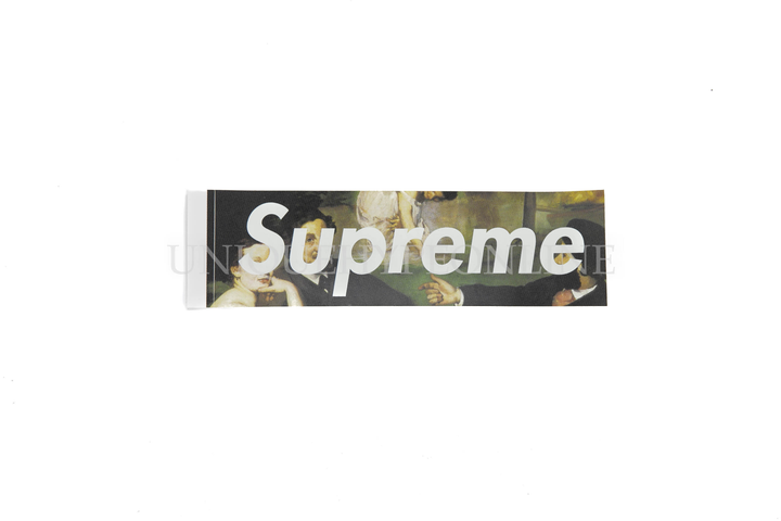 Supreme Le Bain Box Logo Sticker