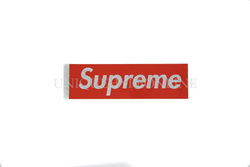 Supreme Glitter Box Logo Sticker Red (Single)