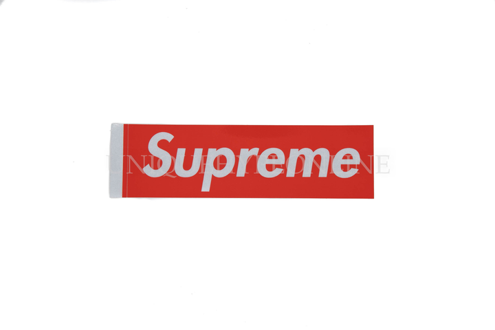 Supreme 3M Box Logo Sticker Red (Single)