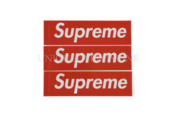 Supreme Red Box Logo Sticker Set