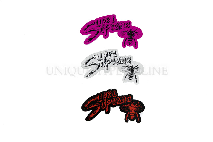 Super Supreme Bee Sticker Set