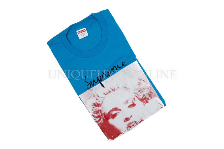Supreme Madonna T-shirt FW18 Bright Blue