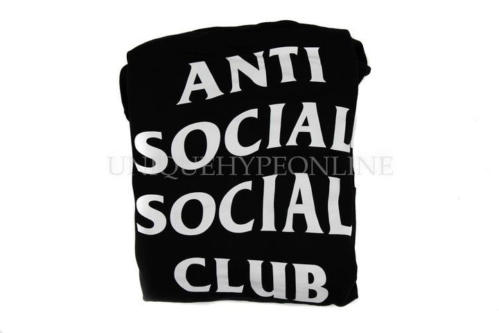 Anti Social Social Club Mind Games Hoodie Black