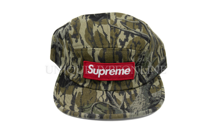 Supreme Military Camp Cap FW18 Mossy Oak Camo