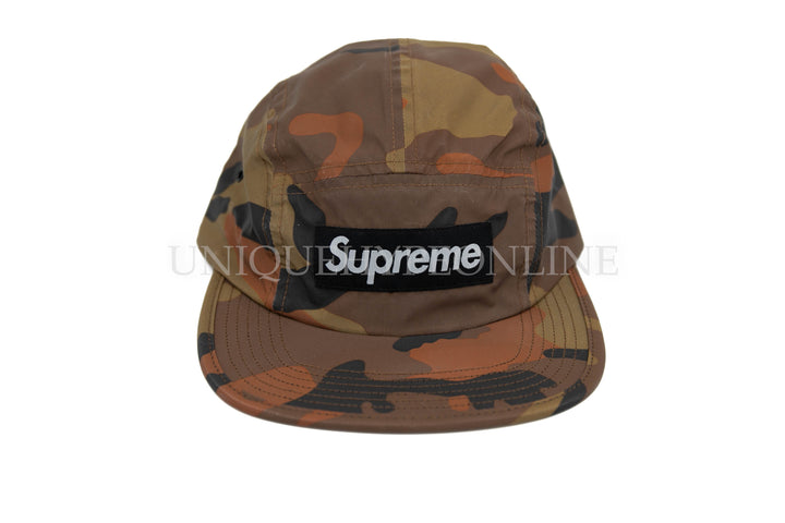 Supreme Reflective Camo Camp Cap FW18 Orange