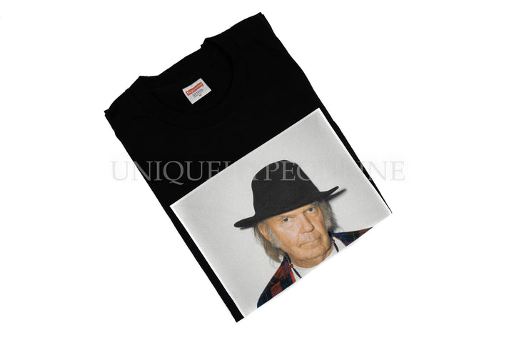 Supreme Neil Young T-shirt SS15 Black