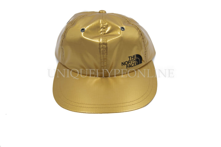 Supreme The North Face Metallic 6-Panel SS18 Gold