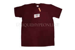 Supreme Luden's Tee FW18 Burgundy