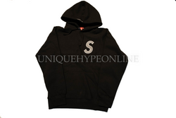 Supreme S Logo Hooded Sweatshirt FW18 Black