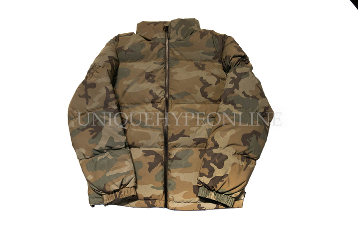 Supreme Reflective Camo Down Jacket FW18 Woodland Camo