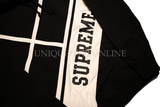 Supreme Diagonal Hooded Sweatshirt SS18 Black