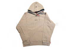 Supreme Trademark Hooded Sweatshirt FW18 Heather Grey