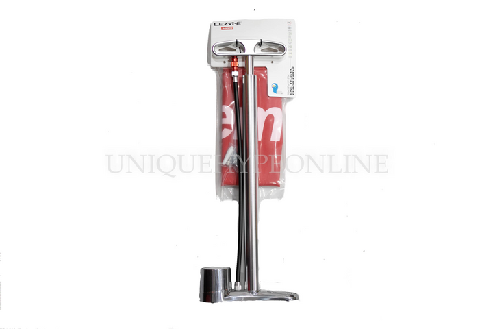 Supreme Lezyne Cnc Bike Pump Silver