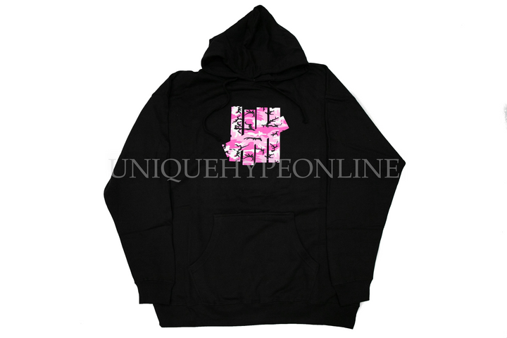 Anti Social Social Club Undefeated Hoodie Black