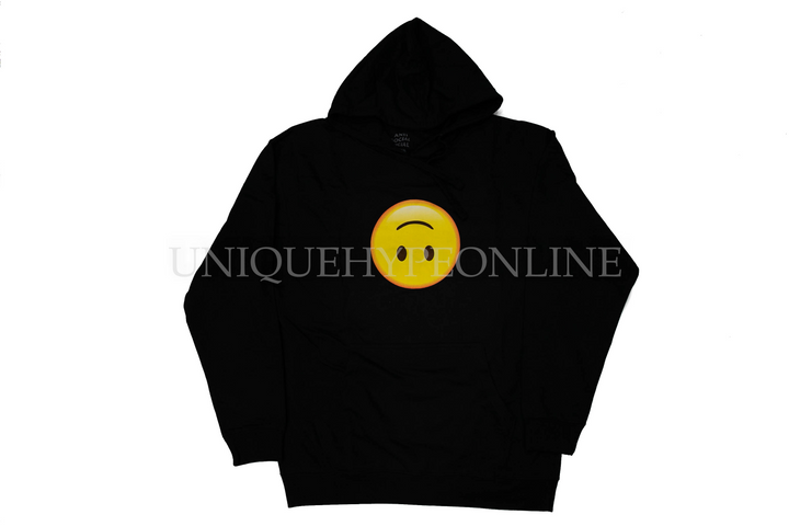 Anti Social Social Club Hoodie Smiley Face Black