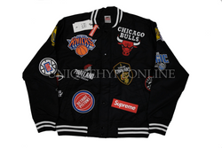 Supreme Nike/NBA Teams Warm-Up Jacket SS18 Black