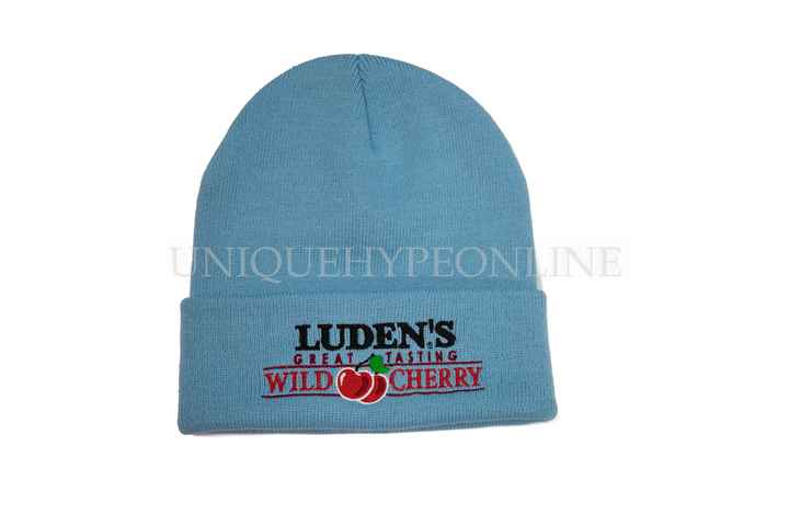 Supreme Luden's Beanie FW18 Light Blue