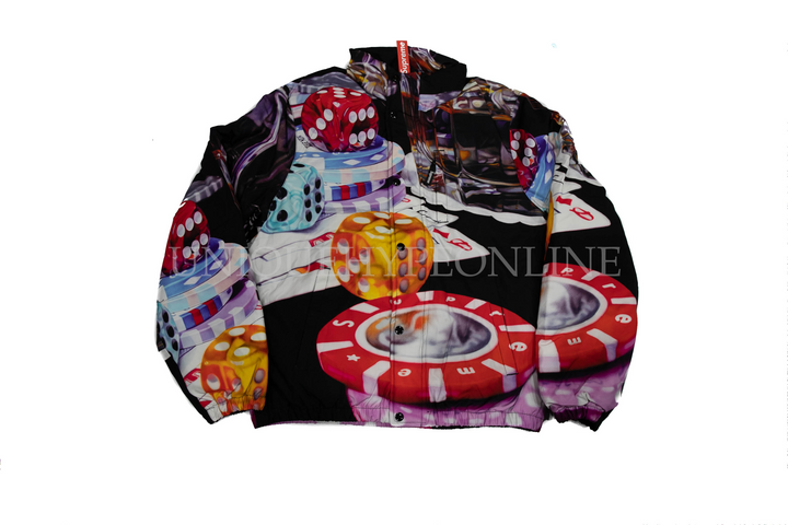 Supreme Casino Down Jacket FW18 Black