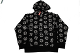 Supreme Fuck Em Hooded Sweatshirt FW14 Black