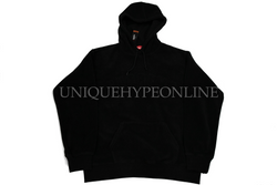 Supreme Polartec Hooded Sweatshirt Black (FW18)