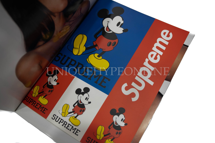 Supreme Mickey Stickers with Book
