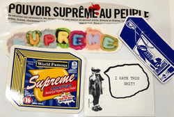 Supreme Sticker Set of 5