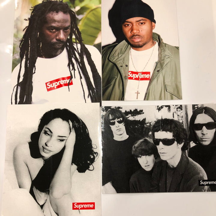 Supreme Sticker Set of 4