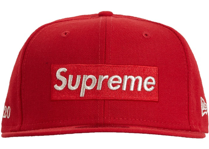 Supreme $1M Metallic Box Logo New Era SS19