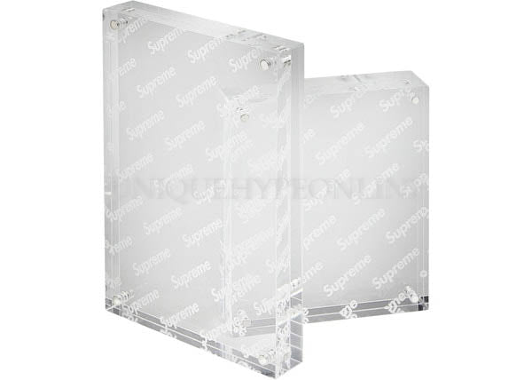 Supreme Acrylic Photo Frame (Set of 2) Clear SS19
