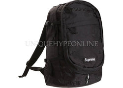 Supreme Backpack Black SS19