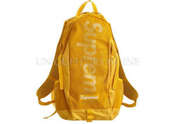 Supreme Backpack Gold SS20