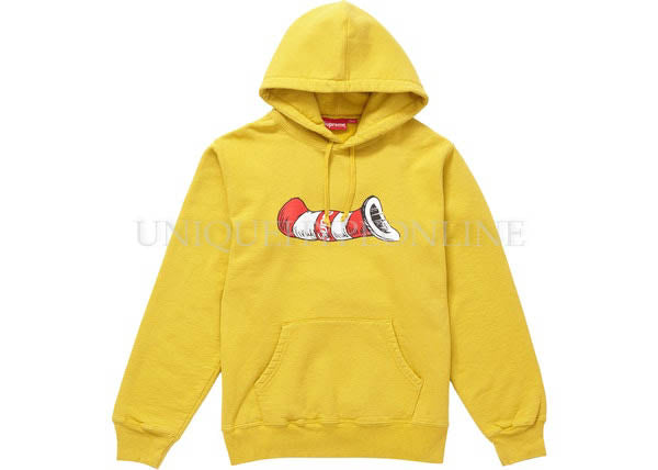 Supreme Cat in the Hat Hooded Sweatshirt FW18
