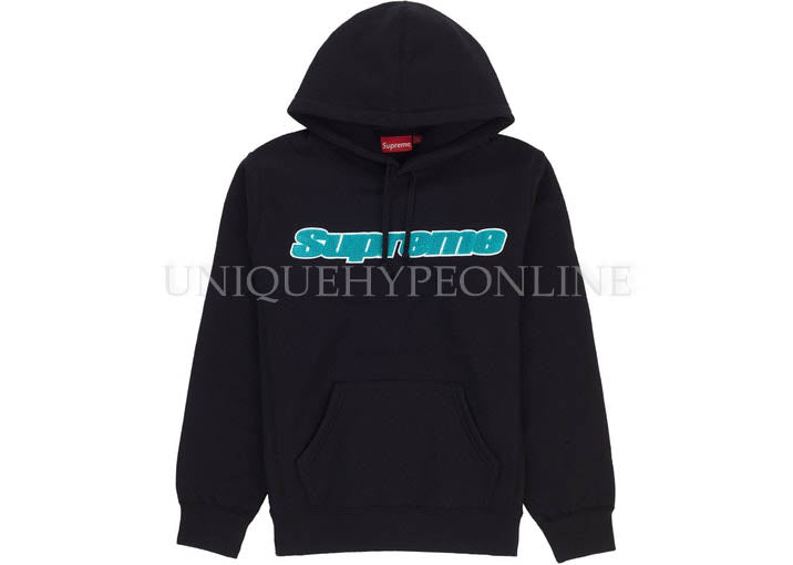 Supreme Chenille Hooded Sweatshirt SS19