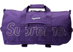 Supreme Duffle Bag FW18 Purple
