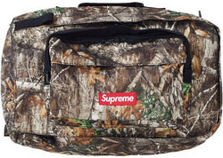 Supreme Duffle Bag Tree Camo FW19